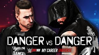 CHRIS DANGER vs MAX DANGER!! | WWE 2K18 My Career Universe Mode | Kholo.pk