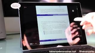 Unboxing y análisis Microsoft Surface Pro 3 en Español
