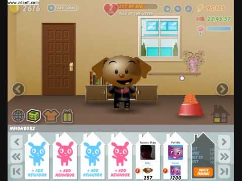 PetVille New FaceBook Game | Review