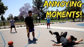 Annoying Moments in Pickup Basketball!