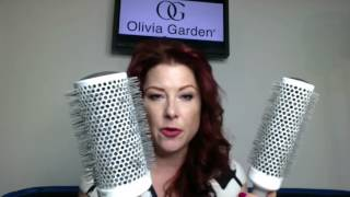 Caravan Stylist Studio - Confessions of a Beauty Junkie - Brushes 101 with Olivia Garden Brushes