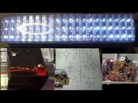 PierAisa #280: Modifica Lampada emergenza a LED per batteria a 6V 4AH