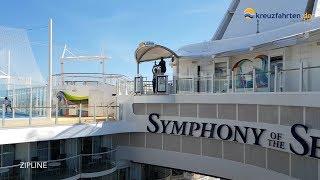 Symphony of the Seas: Unterhaltung an Bord