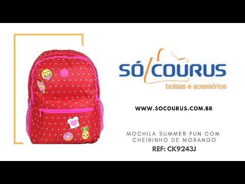 065e92e47 Mochila Summer Fun CK9243J Rosa So Courus
