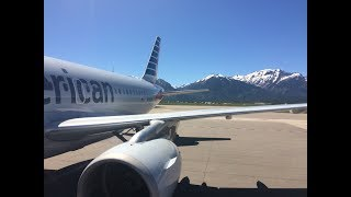 Amazing views flying into Jackson Hole Airport