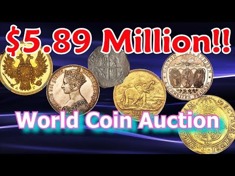 World Coins Sold for Millions At September Coin Auction