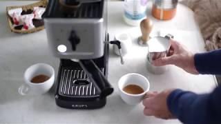 Krups XP 3440 Home Espresso Machine - Cappuccino