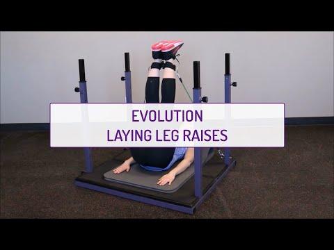 Evolution Laying Leg Raises