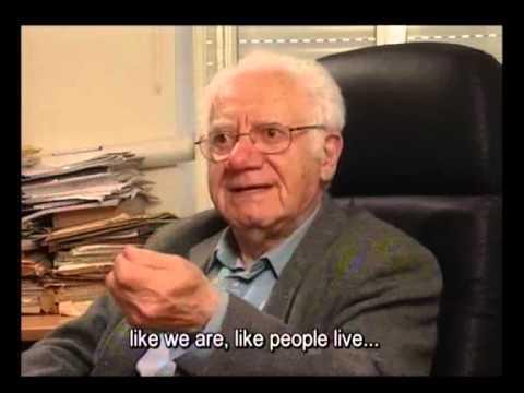 פרופ' ישראל גוטמן על החשיבות של ארכיון עונג שבת
