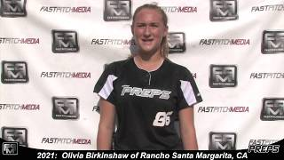 2021 Olivia Birkinshaw Athletic Third Base and Outfield Softball Skills Video - Easton Preps