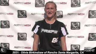 2021 Olivia Birkinshaw Athletic Third Base and Outfield Softball Skills Video - Easton Preps