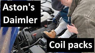 Replacing the Coil packs Daimler/Jaguar XJ (X308) Supercharged