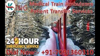 Use King Train Ambulance Facilities in Patna and Kolkata