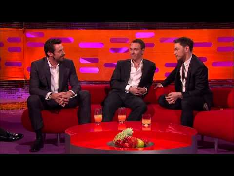 The Graham Norton Show - S15E05 - Hugh Jackman, Michael Fassbender, James McAvoy