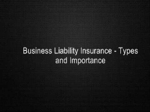 , title : 'Business Liability Insurance - Types and Importance