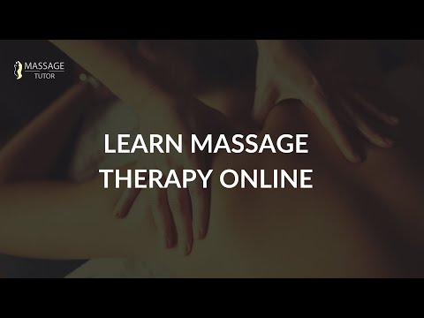 Massage Tutor   Learn Massage Therapy Online