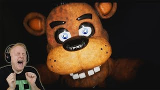 FNAF 1 FREE ROAM REMAKE | NIGHT 1 DEMO   OMG FREDDY IS FASTER THAN FOXY!! | FIVE NIGHTS AT FREDDY'S