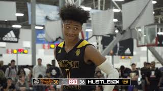 Mikey Williams Gets Challenged  Compton Magic vs EBO TUFF!
