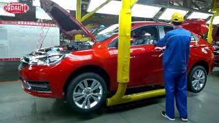 Как делают моторы и автомобили Chery