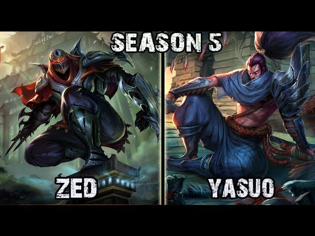 Zed Vs Yasuo