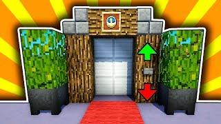 Майнкрафт: Как построить ЛУЧШИЙ ЛИФТ в Minecraft 100% защита от нуб троллинг постройка ДОМ Нуба