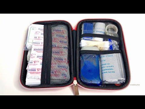 Kit de Supervivencia Mas Completo 175 Articulos y Más Barato Primeros Auxilios