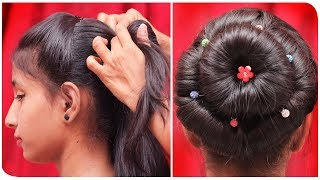 Double Bun Hairstyle - Up & High || QUICK & EASY Hairstyles!! || Ladies Fashion
