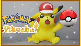 Pikachu Pokemon |como Hacer A Pikachu | Porcelana Fría | Pasta Flexible 😃😁🤗