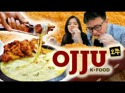 Video Ayam LILIT KEJU Korea PEDAS di OJJU !