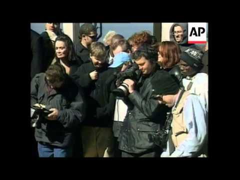 David Blaine Buried Alive (видео)