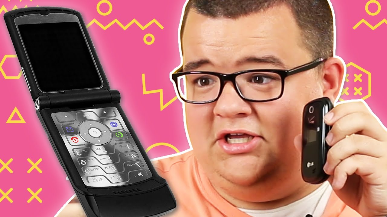 People Use Flip Phones For A Week thumbnail