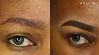 Eyebrows / Comment Tracer Ses Sourcils (step by step)