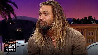 The Late Late Show w/ James Corden - Jason Momoa & Lisa Bonet: Love at First Sight (10.11.17)