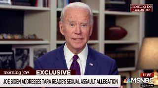 video: 'It never happened': Joe Biden 'unequivocally' denies sexual assault claim in TV interview