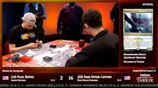 Pro Tour Dragons of Tarkir Round 16 (Standard): Shota Yasooka vs. Seth Manfield
