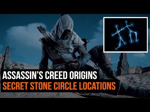 assassin s creed origins all stone circle locations