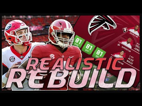 Jake Fromm + Jerry Jeudy is UNSTOPPABLE | Madden 20 Atlanta Falcons Realistic Rebuild