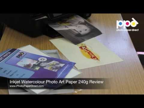 Inkjet Watercolour Photo Art Paper 240gsm Review