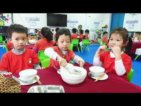 Trường mầm non Phương Đình - Niềm vui khi trẻ đến trường