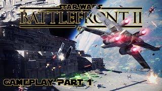 STAR WARS Battlefront 2 - Gameplay Multijoueur Part.1