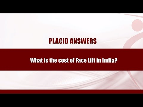 Face lift in India l Cost of Facelift Surgery in India