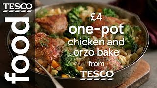 Chicken orzo one-pot