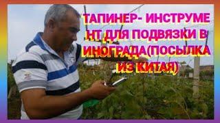 Тапенер для винограда видео