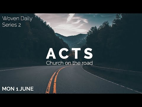 43. Woven Daily - Acts 8.14-25