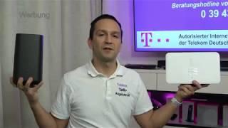 Vergleich Telekom Speedport Pro mit Speedport Smart 3 - WLAN Router für MagentaZuhause DSL / Fiber