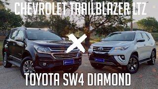 Ver o vídeo COMPARATIVO: Chevrolet Trailblazer x Toyota SW4