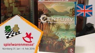 #Spielwarenmesse 2018 - PlanB Games - Century Eastern Wonders