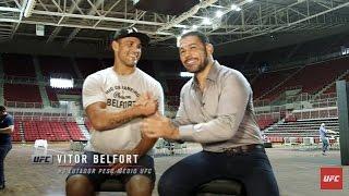 Corner: Rodrigo Minotauro entrevista Vitor Belfort