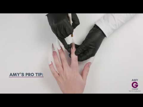 How to apply platinum gels - Amy G Nail Art Collection