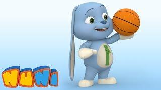 NuNi –Animation for toddlers | Basketball | Imaginary Ball